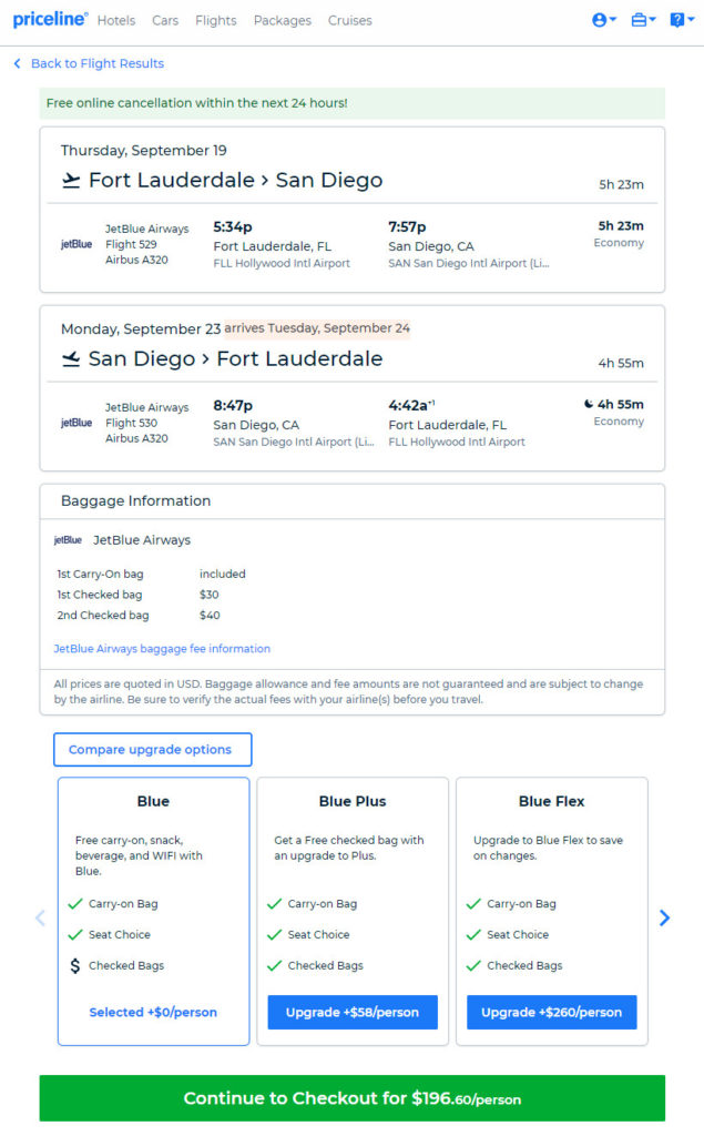Cheap Rental Cars San Diego >> jetBlue – $197: Fort Lauderdale – San Diego (and vice versa). Roundtrip, including all Taxes ...