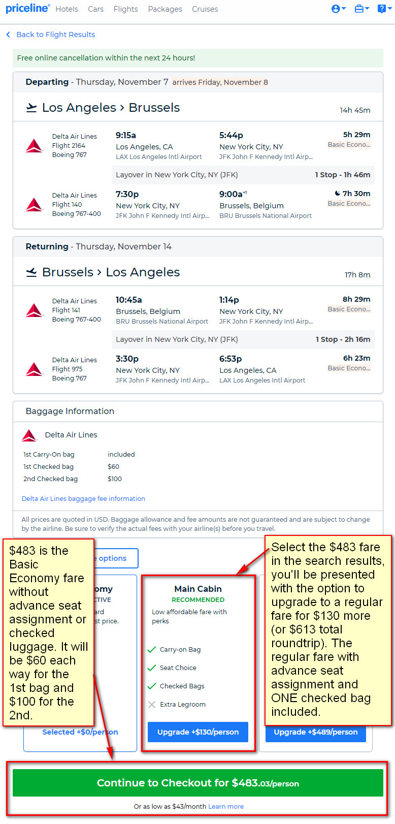 The Flight Deal | Delta – $613 (Regular Economy) / $413 (Basic