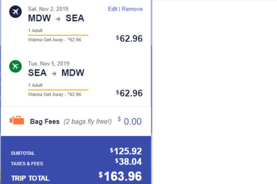 The Flight Deal | Southwest – $164: Chicago – Seattle (and vice